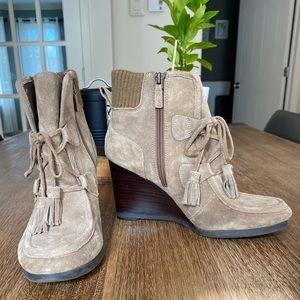 FRANCO SARTO | brown/beige booties